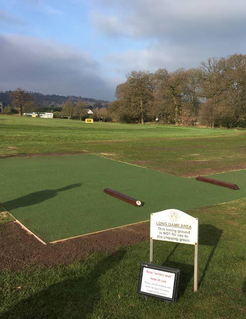 Golf Tee Grass