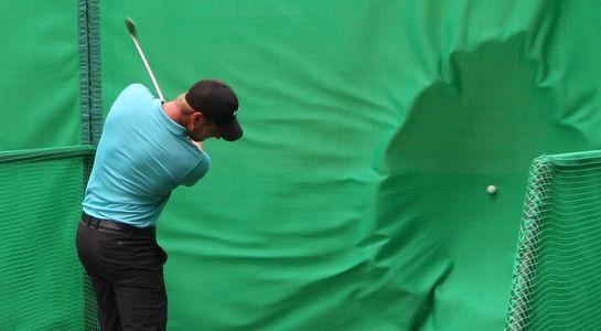 Golf Baffle Netting